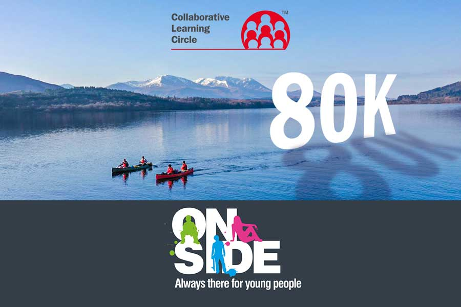 CLC | Battling nature and the elements to raise £80,000 for OnSide Youth Charity