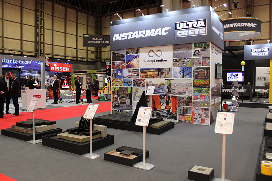 The Instamac stand brought many visitors at Traffex