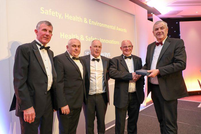 Kier | Kier Highways wins Safety Innovation Award for surface dressing innovation