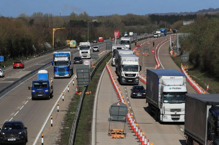 Operation Brock – work to remove M20 contraflow complete