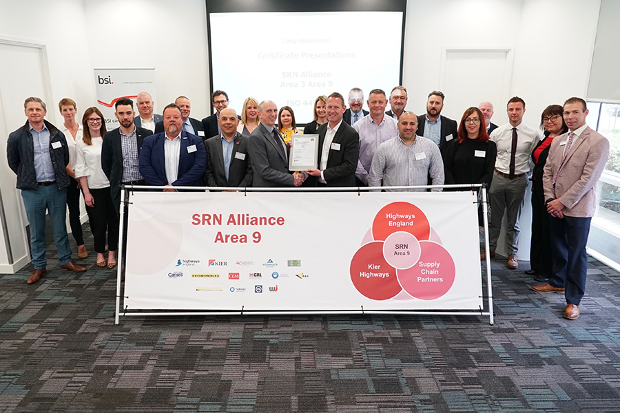 The SRN Alliance Area 9 team