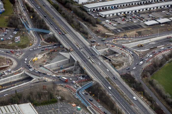 North East's first triple decker junction opens to drivers
