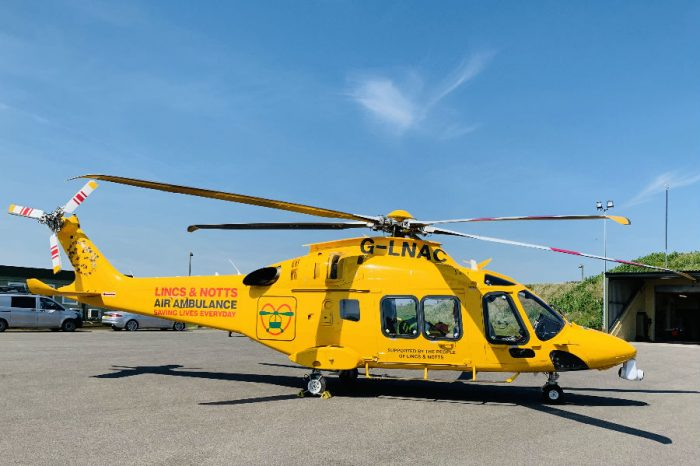 Chevron TM   Proud to support the Lincs & Notts Air Ambulance celebrating 25 years