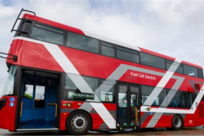 All aboard for London's new clean-air buses