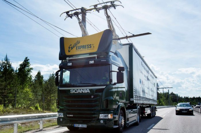 Germany Installed Cables Over a Highway to Power Electric Trucks