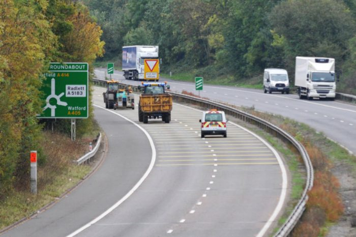 Face-lift for Hertfordshire's A-roads