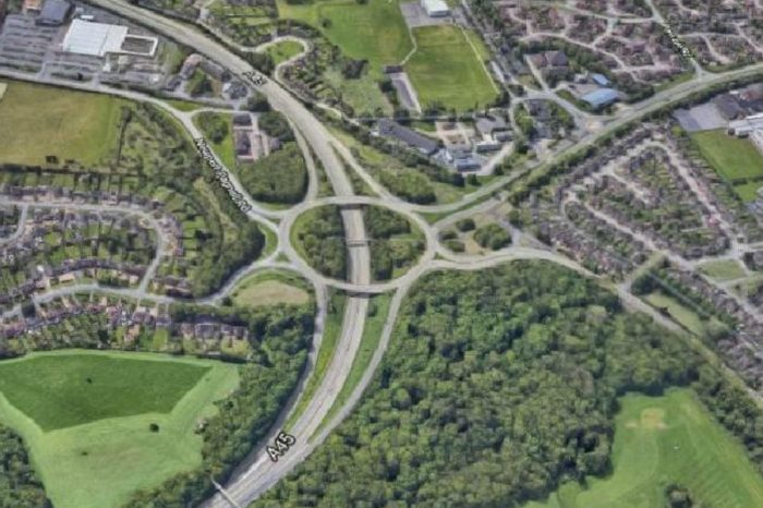 Improvement works to key A45 junctions in Northampton approved by councillors