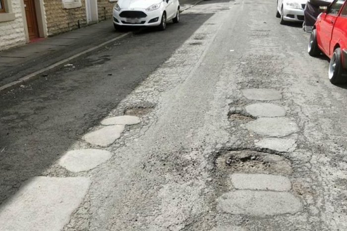 Pothole repairs marked as complete despite no work taking place