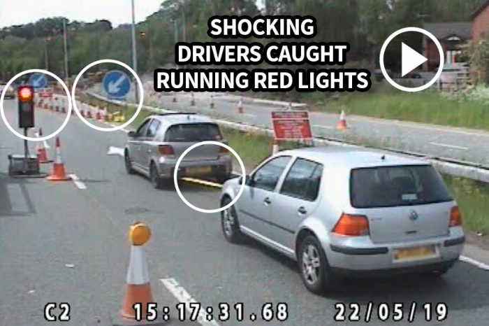 Carnell | Shocking! Roadworker lives endangered as 587 vehicles jump red lights in ONE DAY