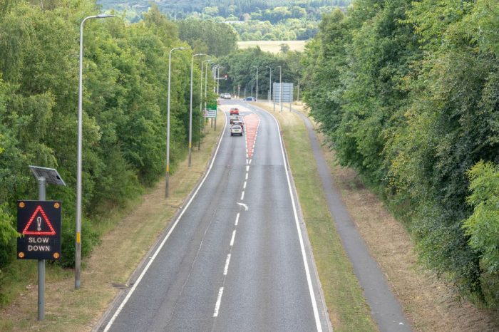Shortlisted road safety schemes give drivers a clear view of approaching hazards