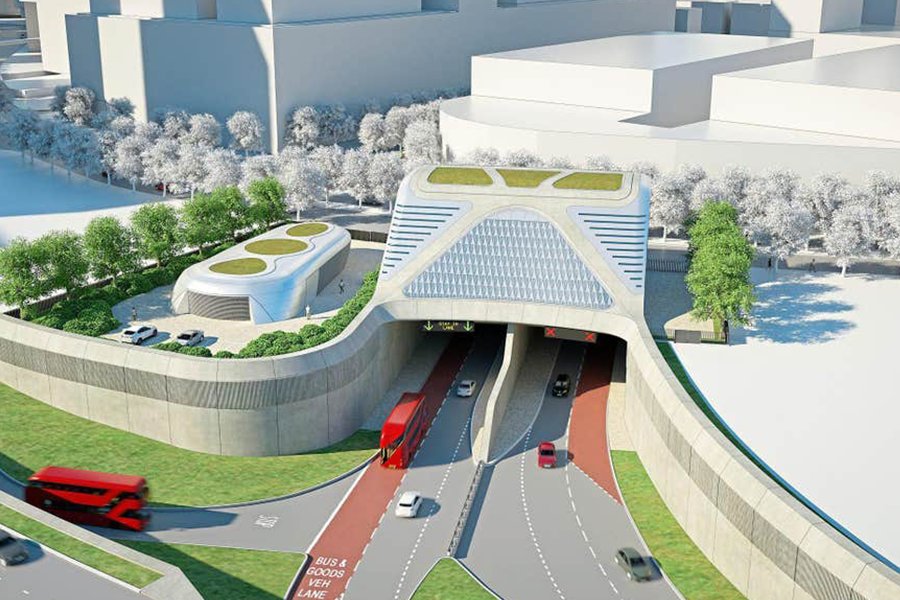 """""""Vital"""": the planned Silvertown tunnel"""