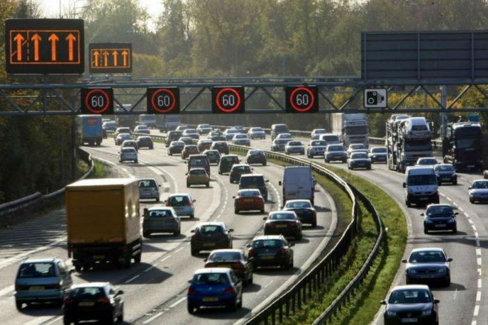 Smart motorways without hard shoulders are safer, claims Highways England