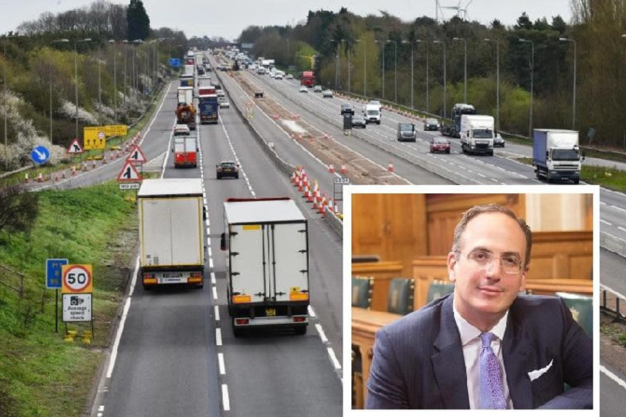 Northampton MP Michael Ellis has stood by the Smart Motorway scheme in his first week as Minister for Transport.