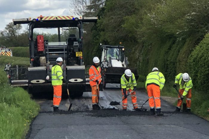 Eurovia Surfacing & Eurovia Specialist Treatments | Helping to deliver £15million Transport for Buckinghamshire highways programme