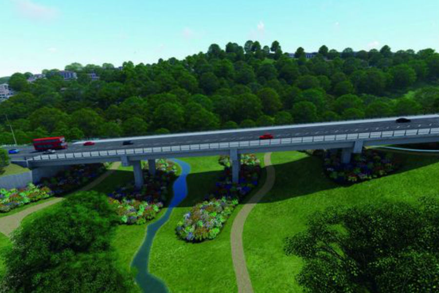 Full details as work is 'on schedule' for Forder Valley Link Road