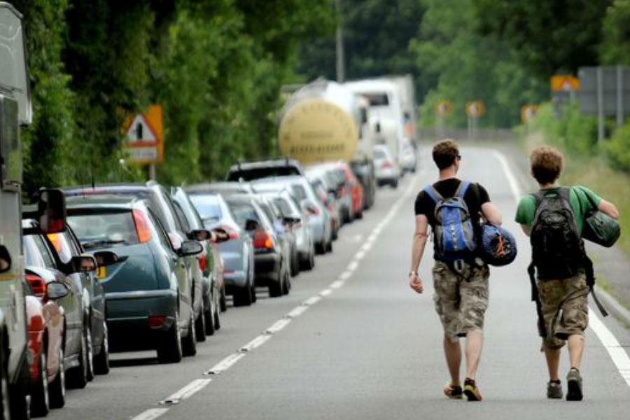 Non-essential roadworks cancelled ahead of Glastonbury Festival