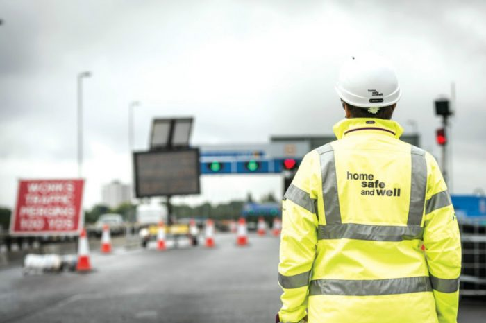 "Highways England launches ""Home Safe and Well."""