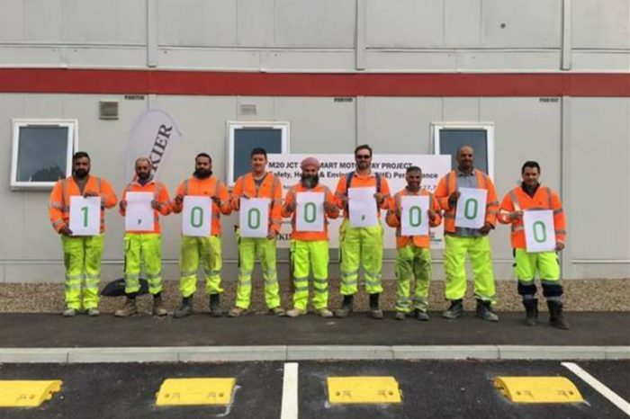 M20 workers celebrate one million hours accident free