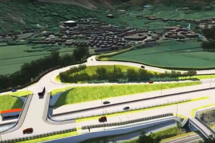 New images of A55 junction plans revealed
