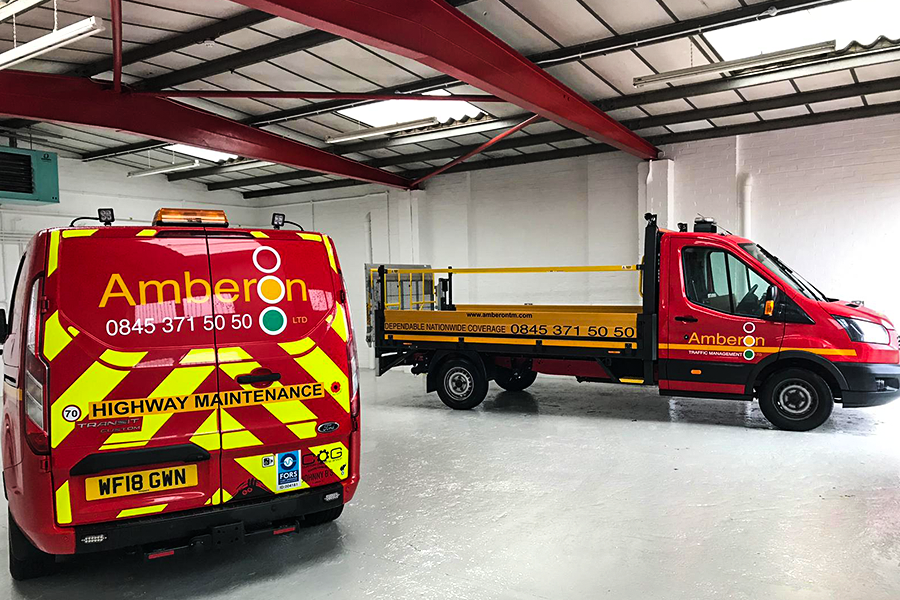 The depot supports Amberon's national contracts