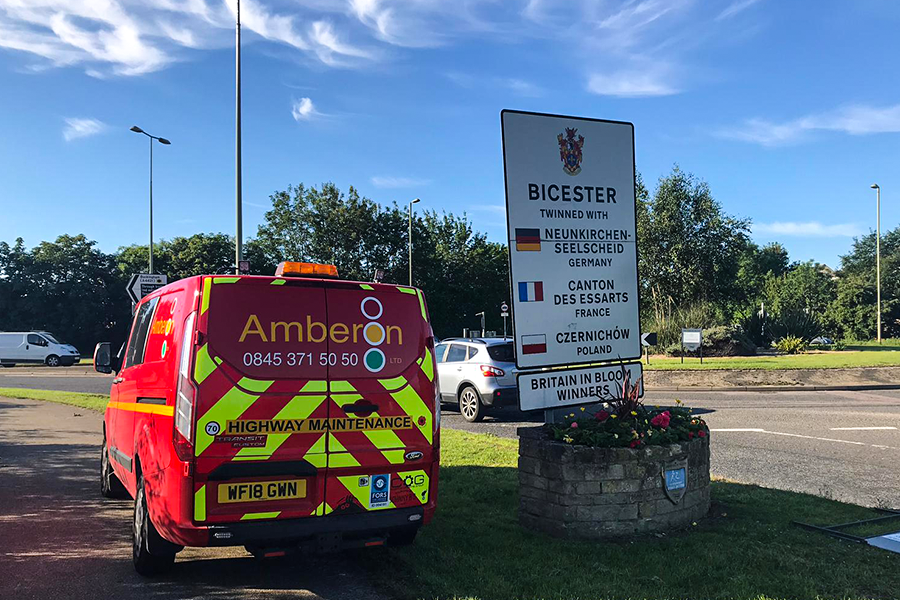 Bicester sees Amberon's latest depot opening