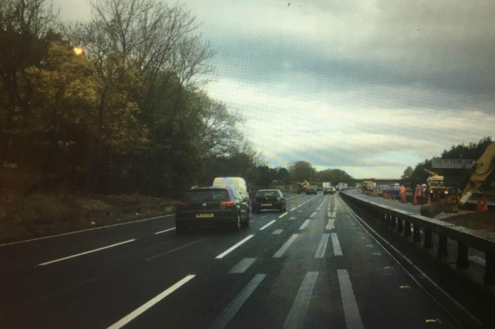 Highways England clearly on right lines to make 'ghost' markings vanish