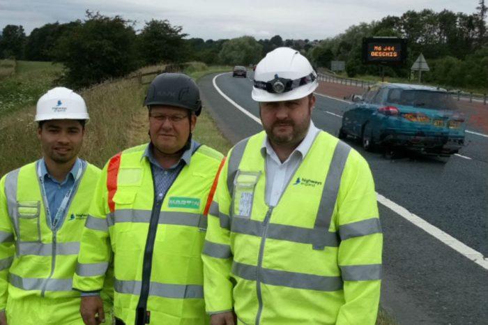 Highways England trials multilingual roadworks signs