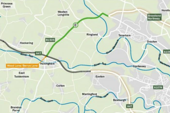 'Missing link' in Norwich's bypass approved by county council