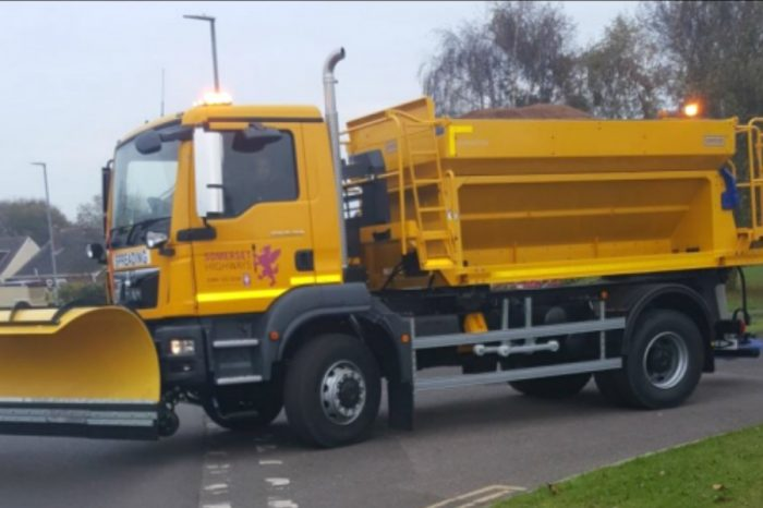 Somerset County Council unveils extended snow gritting map for coming winter