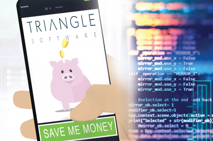 Triangle Software | The 3 ways YOU save money for your business by utilising software