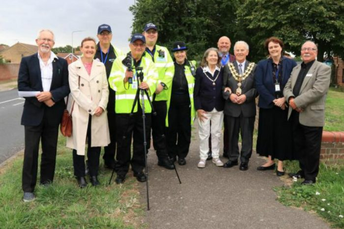 Harwich's speed volunteers are first in the UK to be given enforcement powers