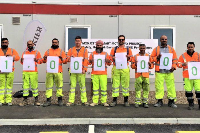 Kier | Kier Highways reaches safety milestone on two smart motorways projects