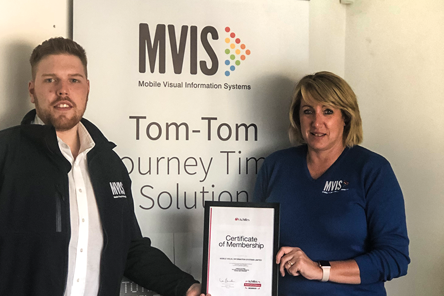 MVIS receive and display their Achilles accreditation