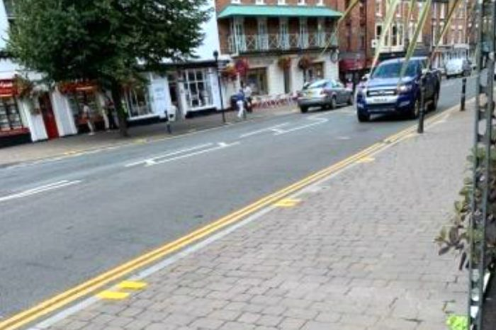 Highways road markings done in 'error', say Worcestershire Country Council spokeswoman