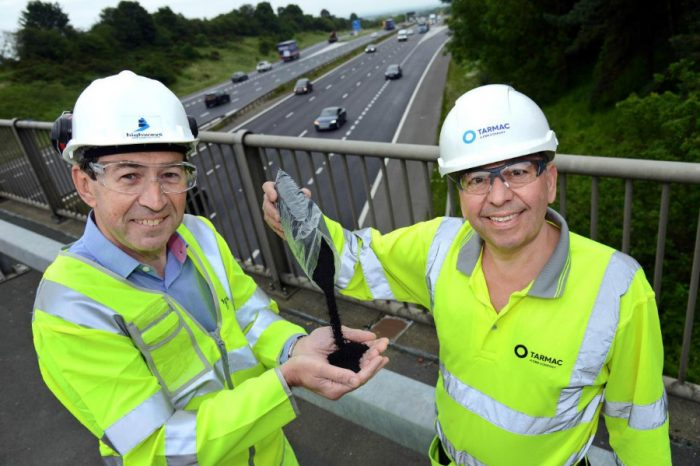 Making tracks in tackling tyre graveyards as new road surface using rubber is trialled