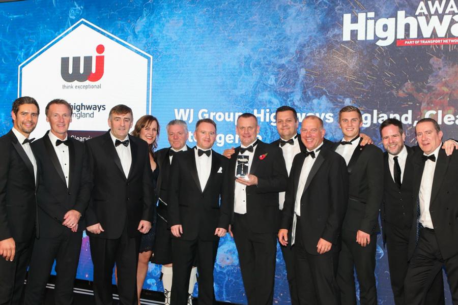 WJ | WJ Group in line for Highways Awards