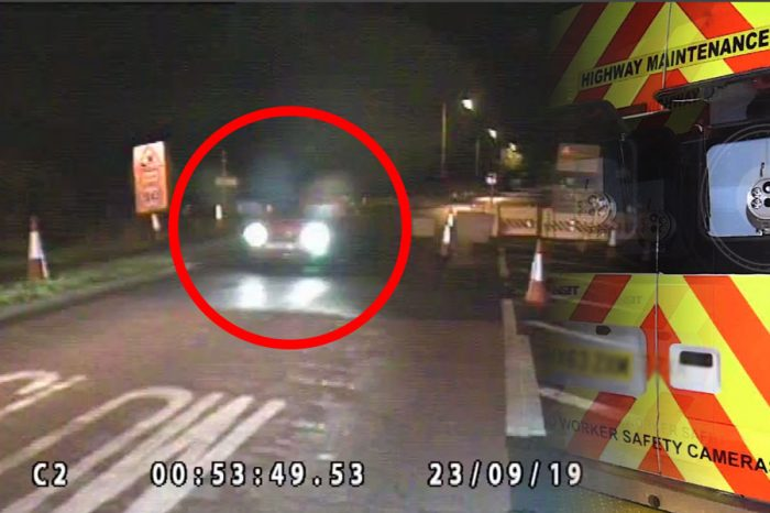 Carnell | Shocking video footage of blatant disregard for Roadworker Safety
