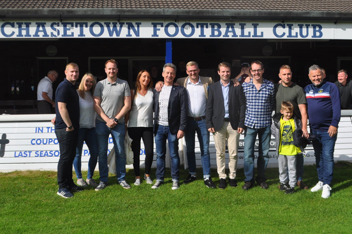 Crown Highways | Supporting local community with sponsorship at Chasetown FC