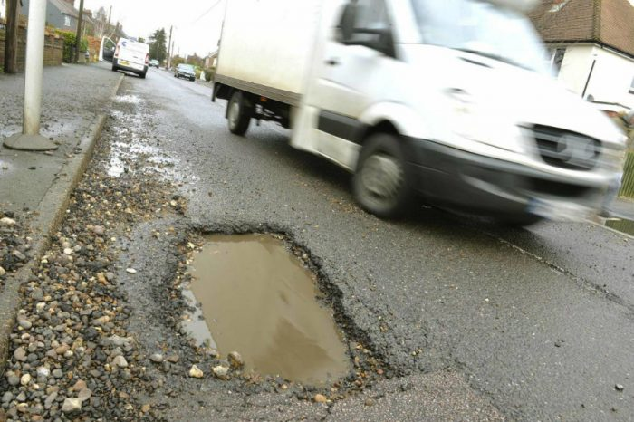 Essex County Council spent £63 million repairing roads last year