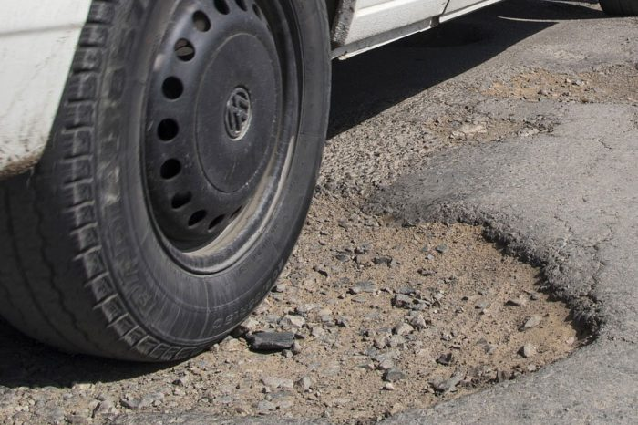 These are the worst 2 counties for potholes in the UK