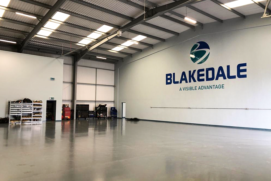 Blakedale's new impressive 15,000 sq ft facility already feels like home