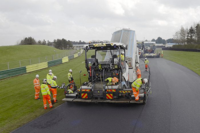 Tarmac goes full throttle for Croft circuit resurfacing
