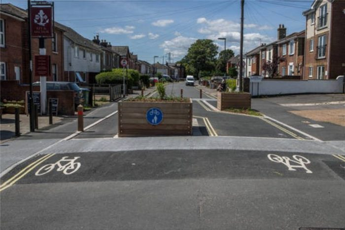 Cycling towards a cleaner city: Balfour Beatty Living Places pedestrianisation scheme