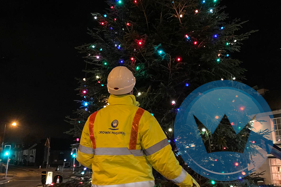 Crown Highways support Burntwood annually with their Christmas preparations