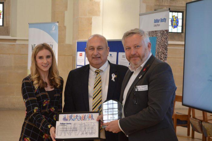 Kier | Kier Highways wins two social value awards in Surrey