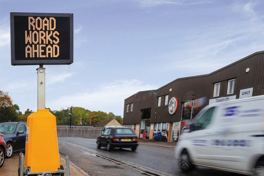 Messagemaker Displays | Two New Temporary Traffic Signs Launched
