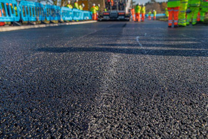 Skanska explores innovative materials to drive greener, more durable roads
