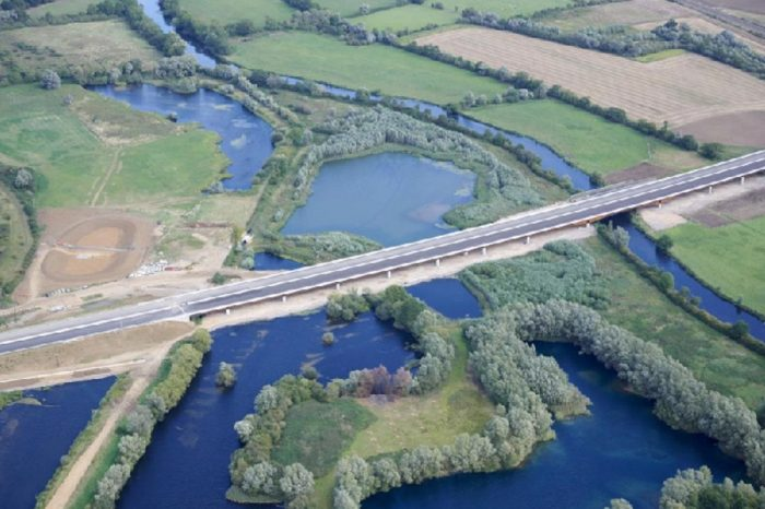 A14 Huntingdon bypass opens