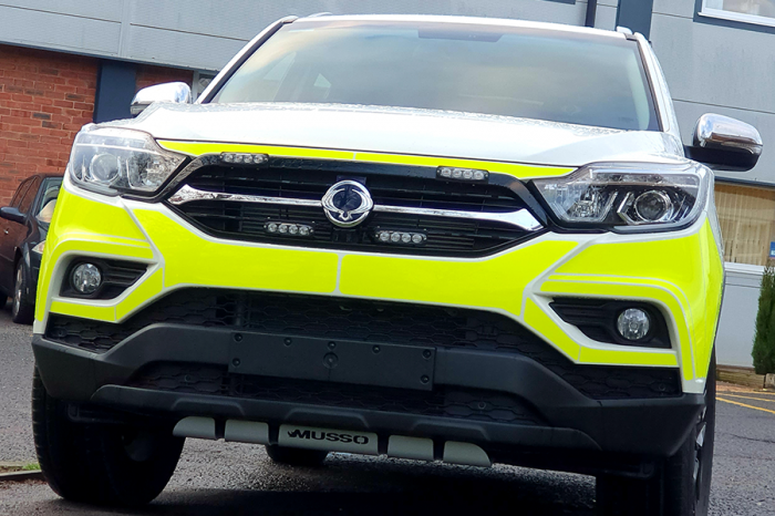 BTHS | BTHS joins Highways England in utilising this fit for purpose 4 x 4 onto the UK network