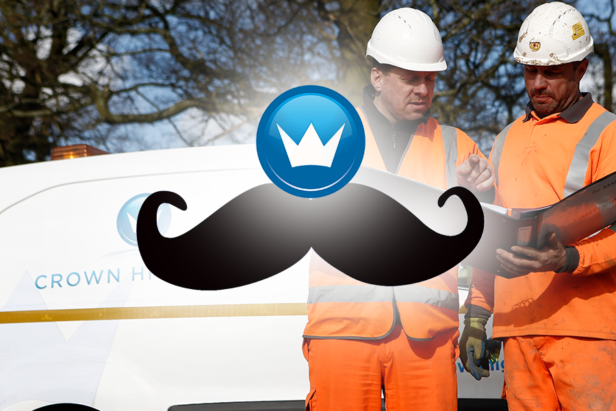Crown Highways | November all about the 'stache and the cash with fundraising for Movember